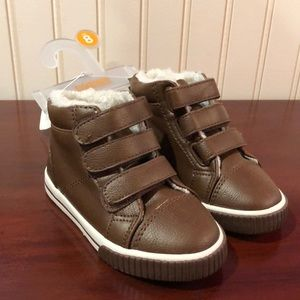 Toddler brown boots